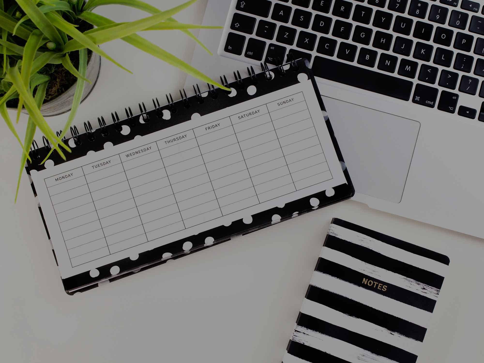 Smart checklista för din schemaläggning